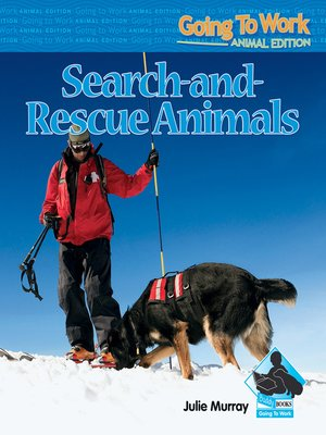 cover image of Search-and-Rescue Animals