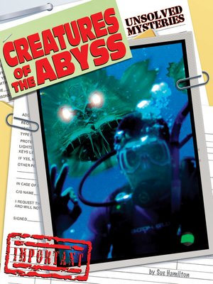 cover image of Creatures of Abyss