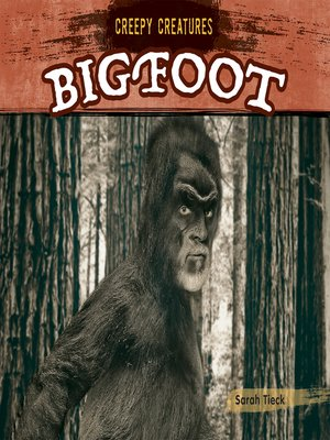 cover image of Bigfoot