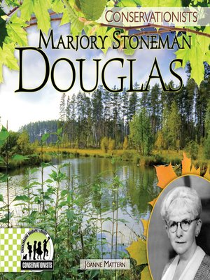 cover image of Marjory Stoneman Douglas