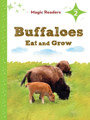cover image of Buffaloes Eat and Grow