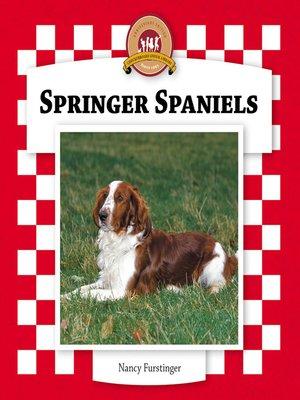 cover image of Springer Spaniels