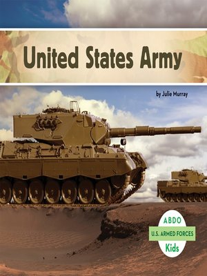 cover image of United States Army
