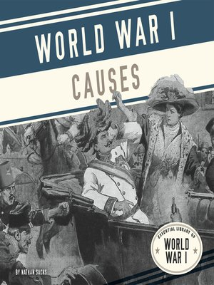 cover image of World War I Causes