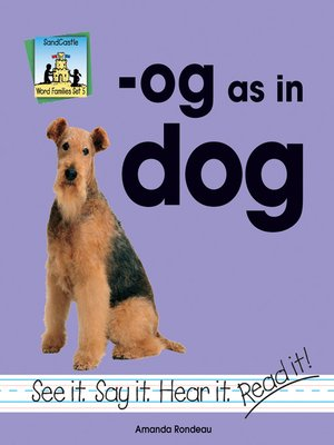 cover image of og as in dog