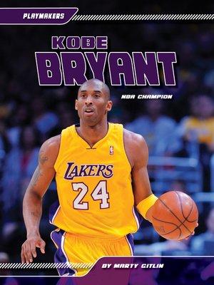 cover image of Kobe Bryant