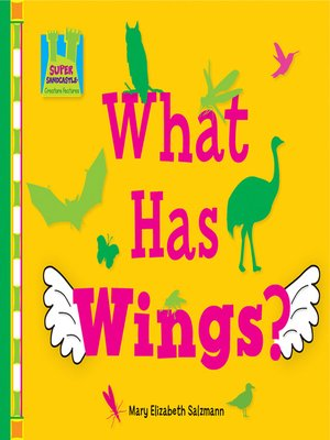 cover image of What has Wings?
