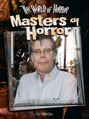 cover image of Masters of Horror