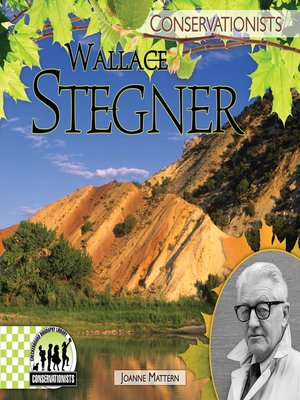 cover image of Wallace Stegner