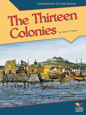 cover image of The Thirteen Colonies