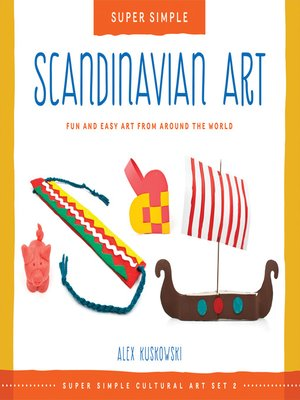 cover image of Super Simple Scandinavian Art