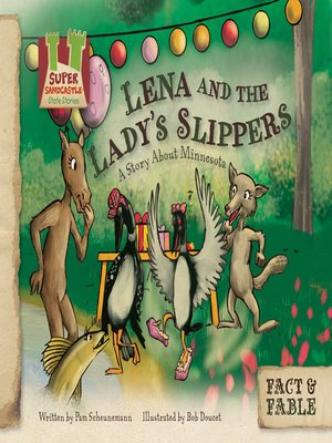 cover image of Lena and the Lady's Slippers