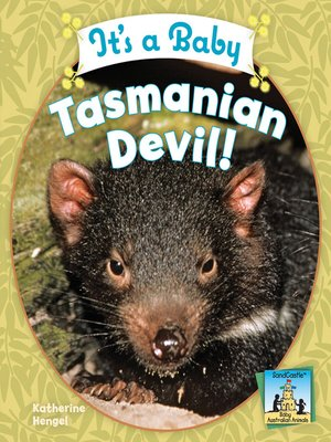 cover image of It's a Baby Tasmanian Devil!