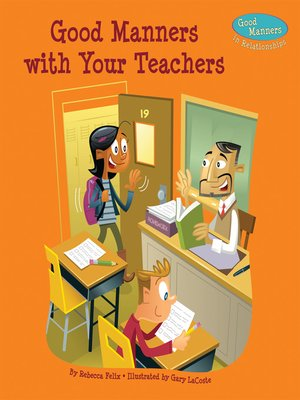 cover image of Good Manners with Your Teachers