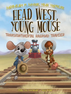cover image of Head West, Young Mouse