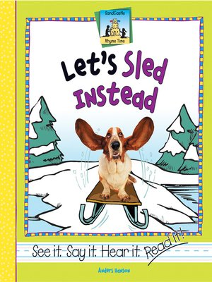 cover image of Let's Sled Instead