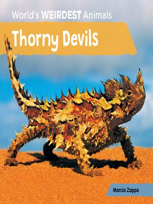 cover image of Thorny Devils