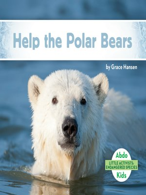 cover image of Help the Polar Bears