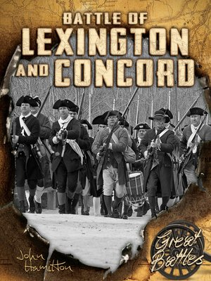 cover image of Battles of Lexington and Concord
