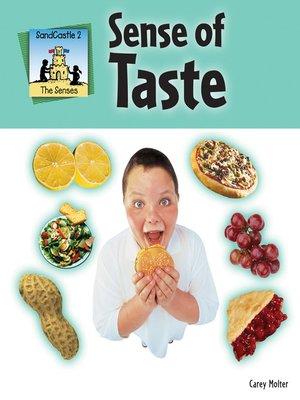 cover image of Sense of Taste
