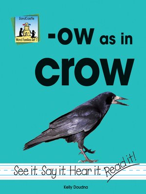 cover image of ow as in crow