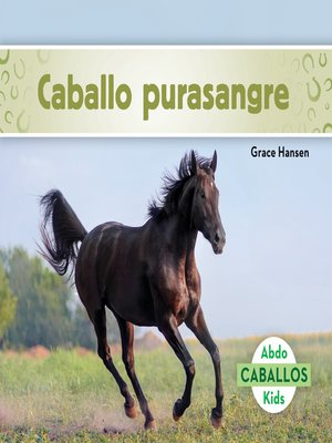 cover image of Caballo purasangre (Thoroughbred Horses)
