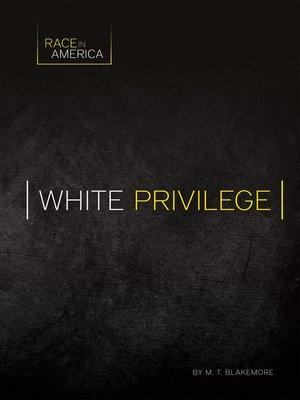 cover image of White Privilege