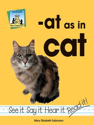 cover image of at as in cat