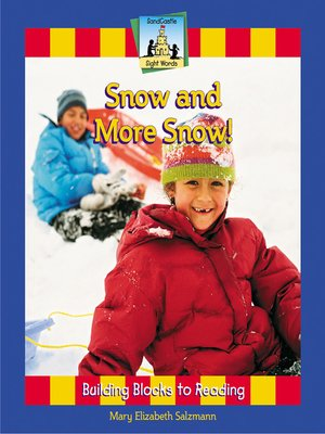 cover image of Snow and More Snow!