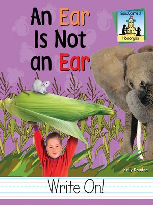 cover image of An Ear Is Not an Ear