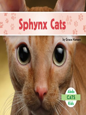 cover image of Sphynx Cats