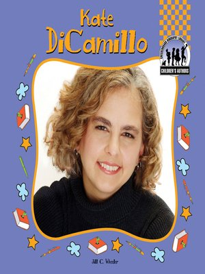 cover image of Kate DiCamillo