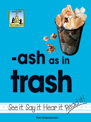 cover image of ash as in trash