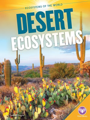 cover image of Desert Ecosystems