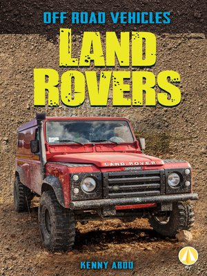 cover image of Land Rovers