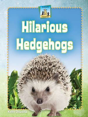 cover image of Hilarious Hedgehogs