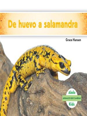 cover image of De huevo a salamandra (Becoming a Salamander )
