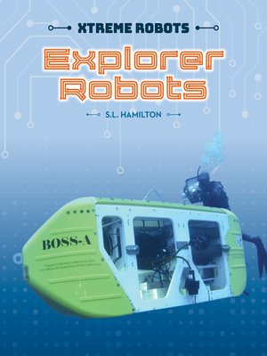 cover image of Explorer Robots