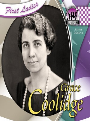 cover image of Grace Coolidge