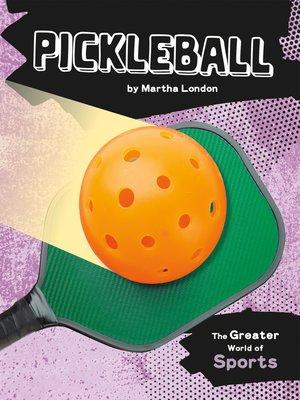 cover image of Pickleball