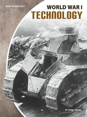 cover image of World War I Technology
