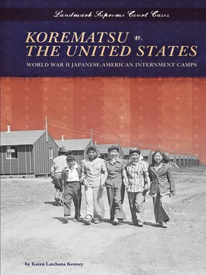 cover image of Korematsu v. the United States