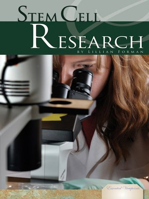 cover image of Stem Cell Research