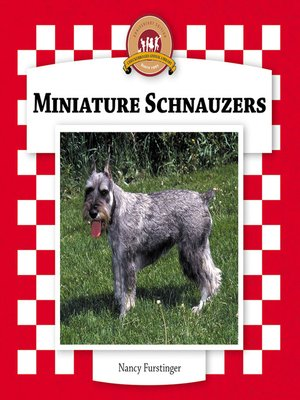cover image of Miniature Schnauzers