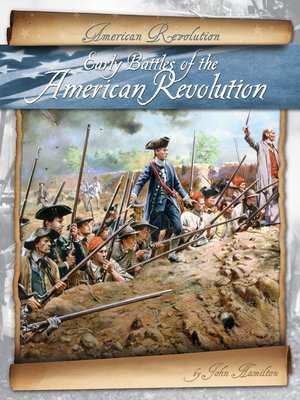 cover image of Early Battles of the American Revolution