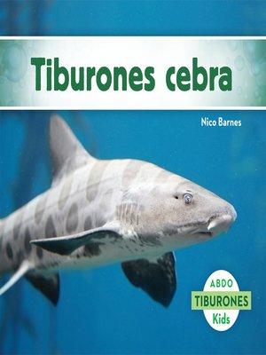 cover image of El tiburón cebra