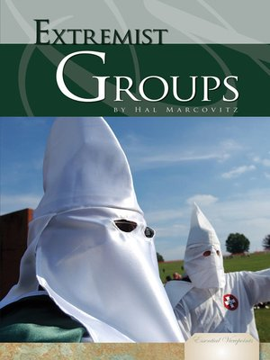 cover image of Extremist Groups