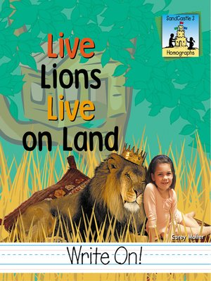 cover image of Live Lions Live on Land