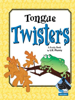 cover image of Tongue Twisters