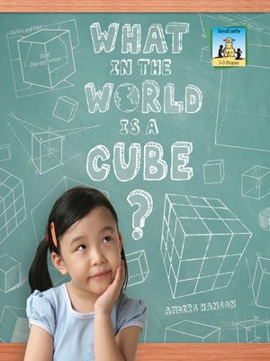 cover image of What in the World is a Cube?